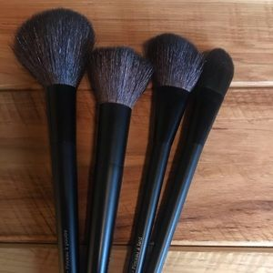 Brand new set of makeup brushes
